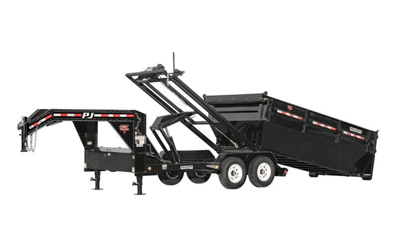 "PJ Trailers 83 / 96"" x 14' Roll-Off Dump (DR)"
