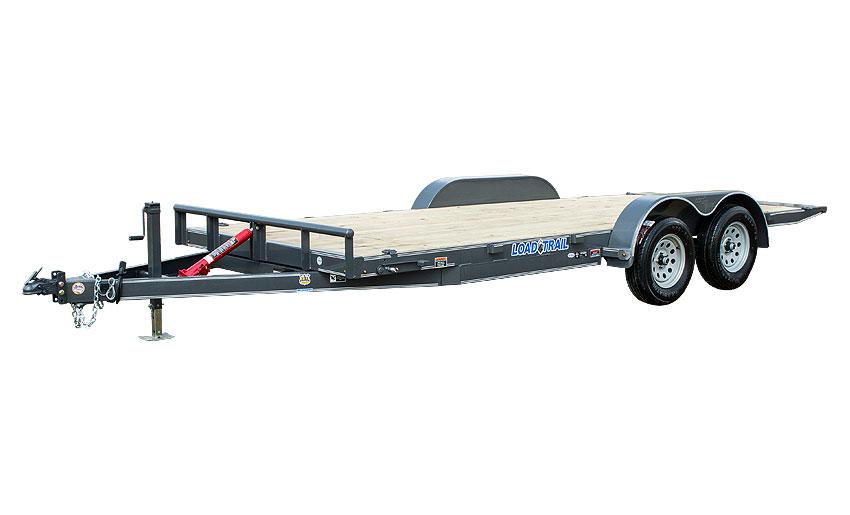 """2017 Load Trail 83"""" X 18' Tandem Axle Manual Tilt Deck"""