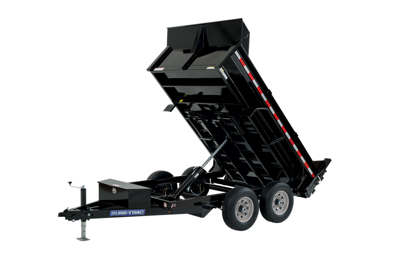Sure-Trac 6 x 10 SD Low Profile Dump Trailer  10K