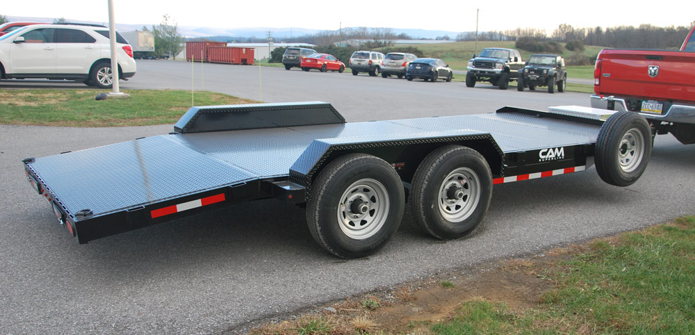 2020 Cam Superline 5 Ton Car Hauler 18FT Steel Deck