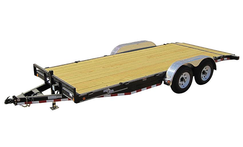 """2017 Load Trail 80"""" X 16' Tandem Axle Carhauler 2-5200 lb"""