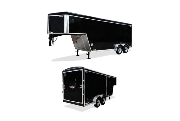 2020 H and H Trailer 101X24 TL R-TOP CARHAUL GN VN 14K CARGO