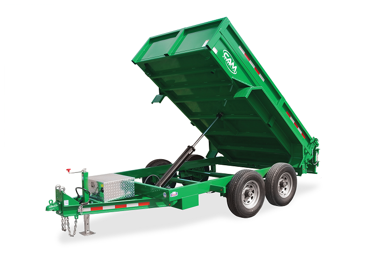 2021 Cam Superline 5 Ton Low Profile Dump Trailer 72.5 IN x