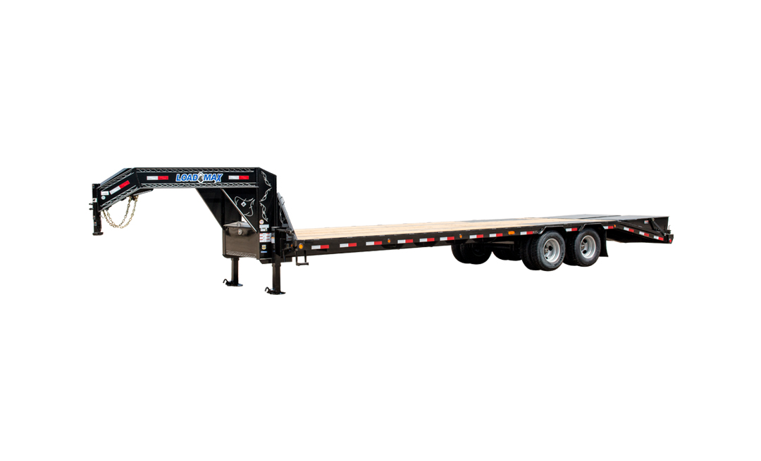 "102"" x 40' Tandem Low-Pro Gooseneck w/Under Frame Bridge & Pipe Bridge"
