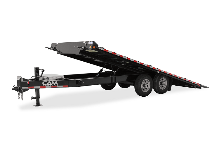 2021 Cam Superline 7 Ton Deckover Full Deck Tilt Trailer 8.