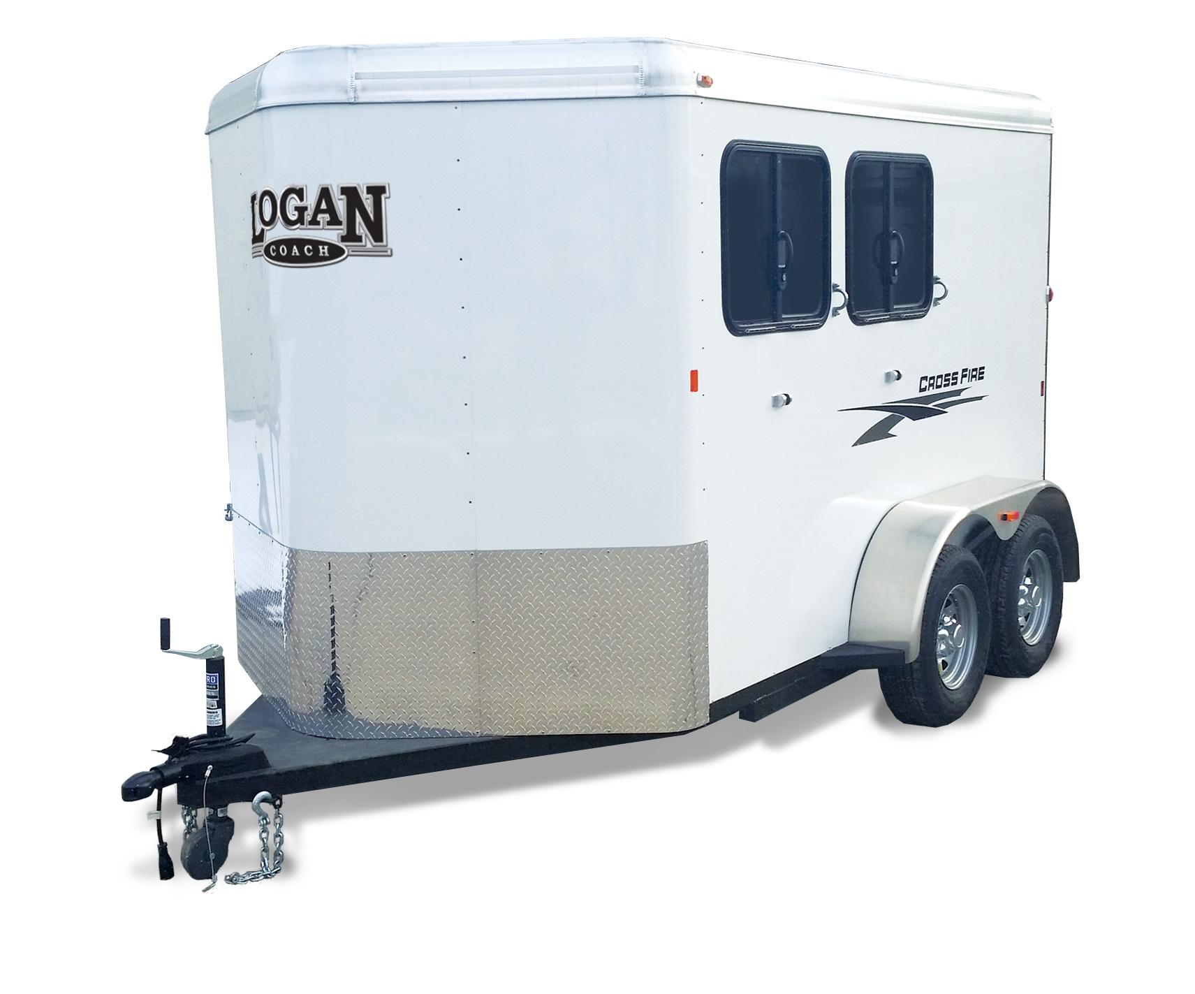 Logan Coach Cross Fire 2-Horse BP