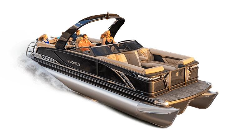 Godfrey Pontoon Boats Windshield 2600 SBW