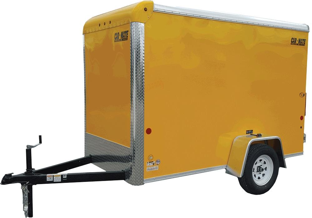 Car Mate Trailers CM508CC - 5'W Single Axle Custom Cargo Trailer
