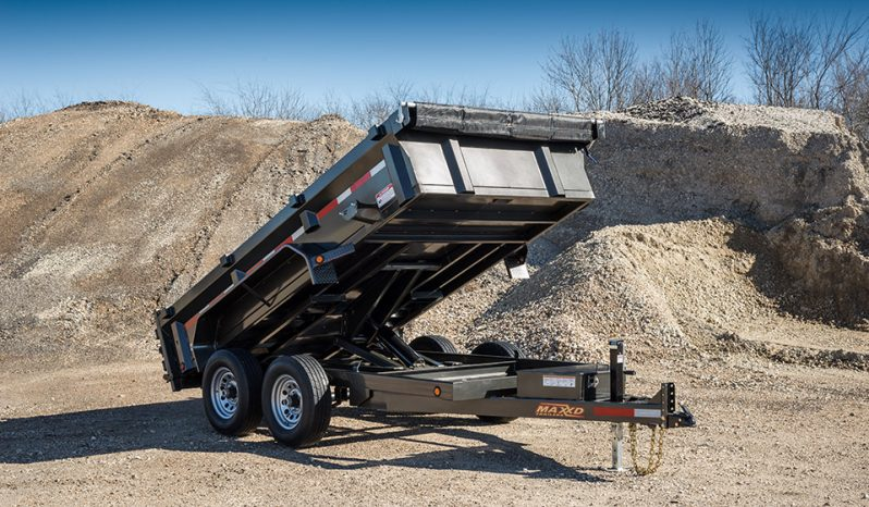 """MAXXD D7X - 72"""" Dump Trailer"""
