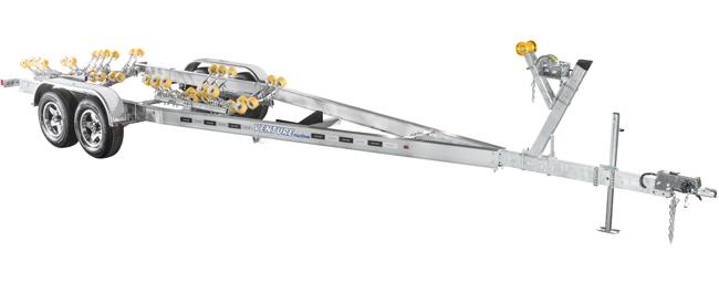 Venture Trailers Aluminum Tandem Axle Rollers VATR-3625