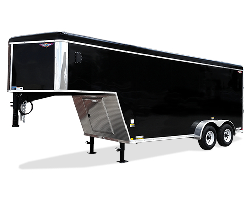 2020 H and H Trailer 101x16 TAND RTOP TL GN VNOSE  10K CARGO