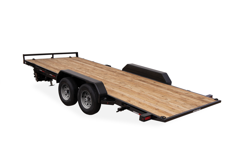 2021 Sure-Trac 7 x 18 Tilt Bed Car Hauler Trailer  7K