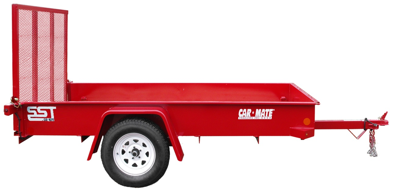 Car Mate Trailers CM408SST-G Single Axle