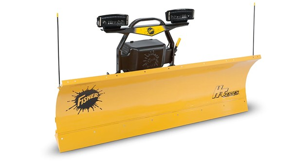 "Fisher Engineering 7' 6"" Straight Blade"