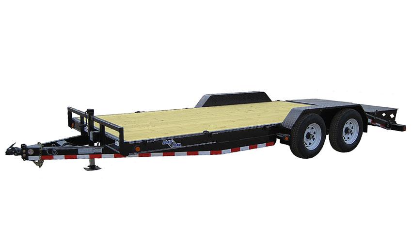 """2016 Load Trail 80"""" X 18' Tandem Axle Carhauler 2-3500 lb"""