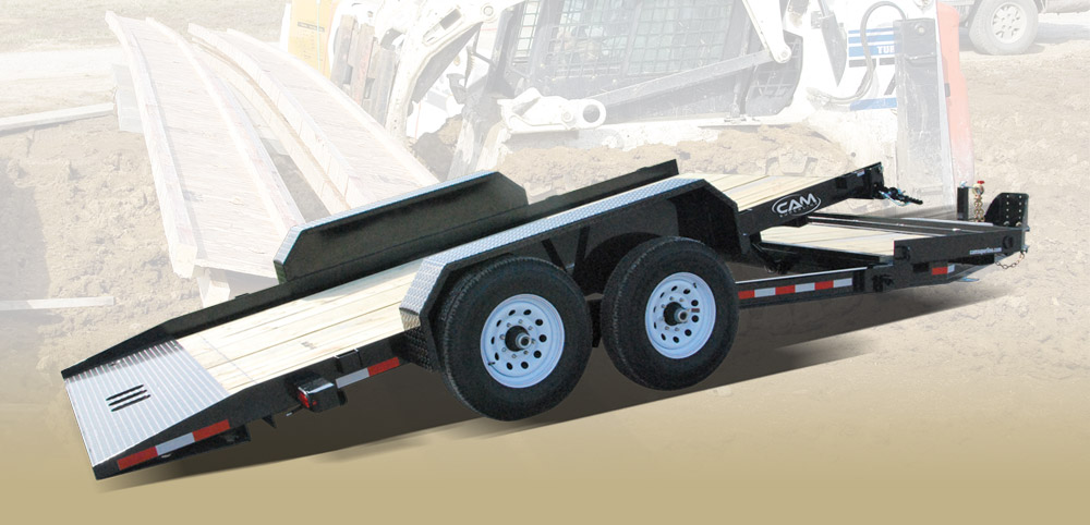 2021 Cam Superline 7 Ton Tilt Trailer Split Deck 8.5 x 16+4