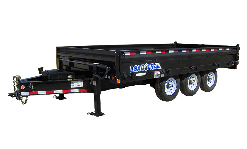 2020 Load Trail 3 - 8,000lb Dexter Spring Axles(3 Hyd Disc Brakes)(oil Bath)