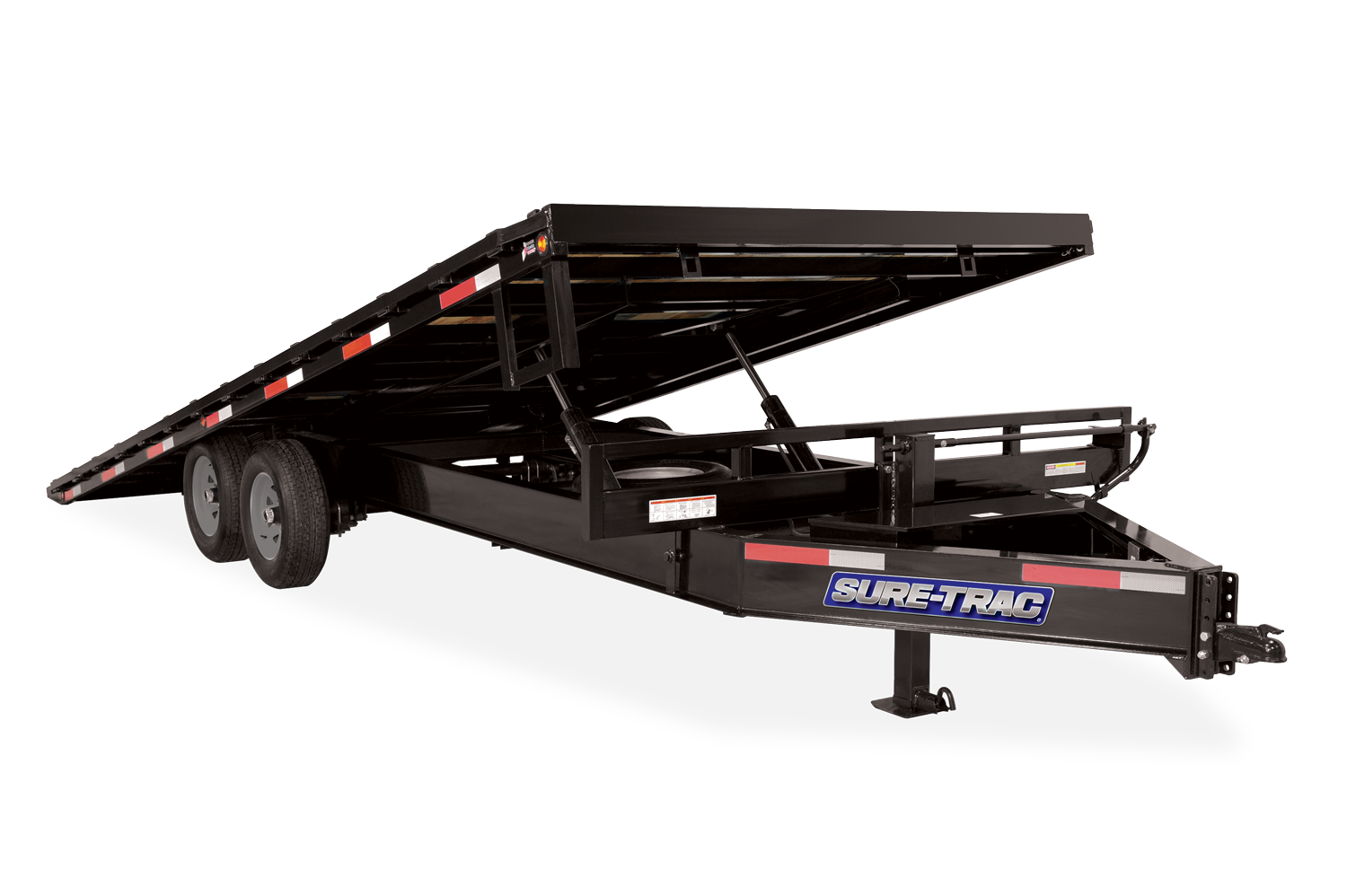 2021 Sure-Trac 8.5 x 22 Heavy Duty Power Tilt Deckover 14K