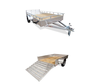 2021 H and H Trailer 8(76)X12 SOLIDSIDE ALUM 3K
