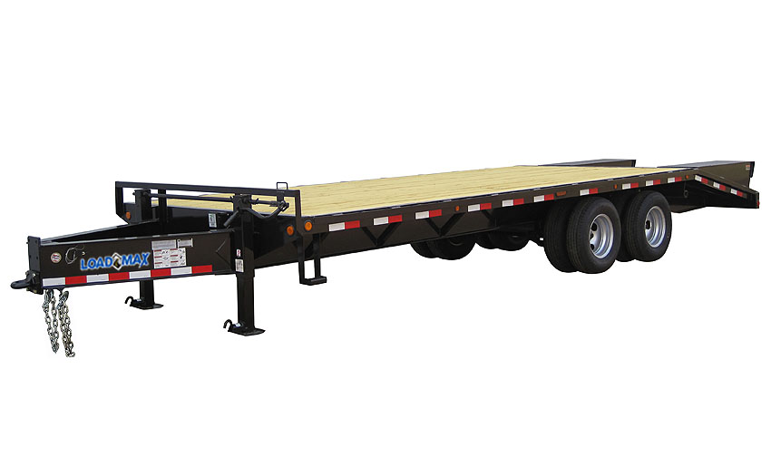 "2016 Load Trail 102"" x 25' Heavy Duty Pintle Hook   2-12,000 lb Axles"