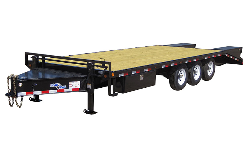 "2017 Load Trail 102"" x 25' Heavy Duty Pintle Hook   3-7000 lb Axles"