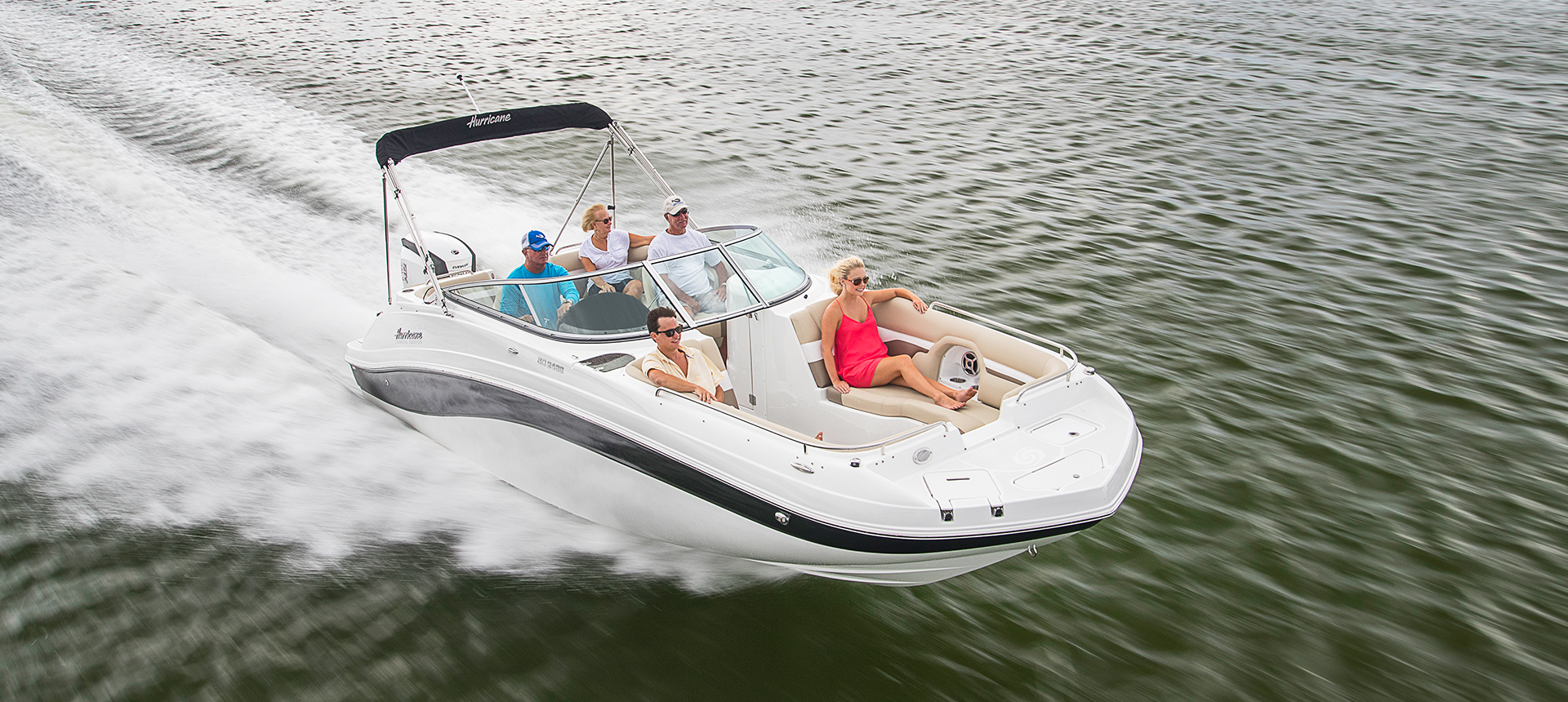 Hurricane Boats SunDeck 2486 OB