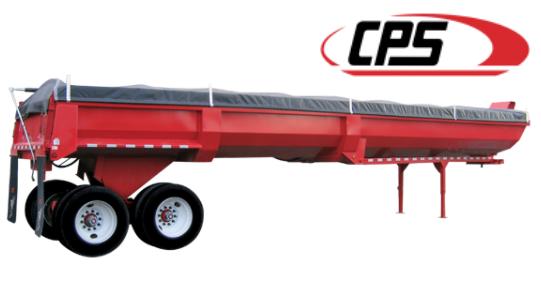 Manac Trailer CPS Steel Lightweight End-Dump
