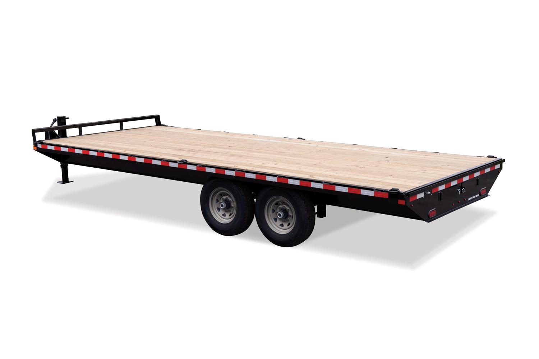 2021 Sure-Trac 8.5 x 18 Standard Duty Flat Deck Deckove
