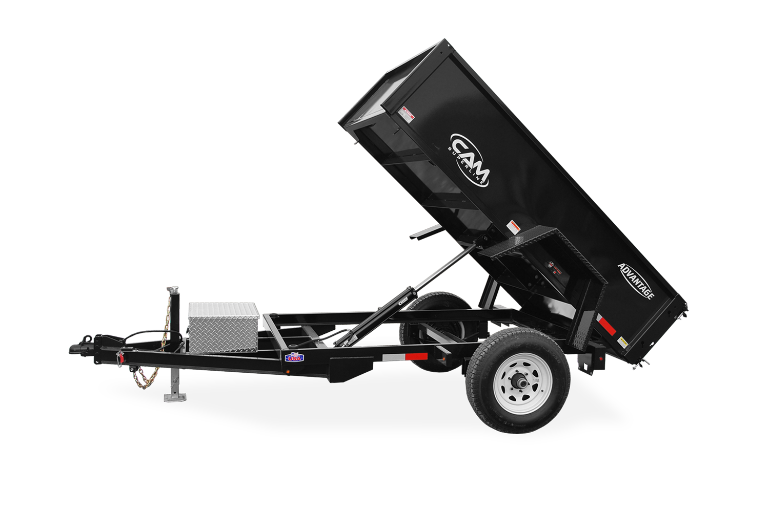2021 Cam Superline 5K Advantage Low Profile Dump Trailer 60