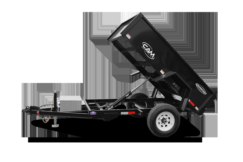 2022 Cam Superline 5K Advantage 5' Wide x 8' Long Low Profile Dump Trailer