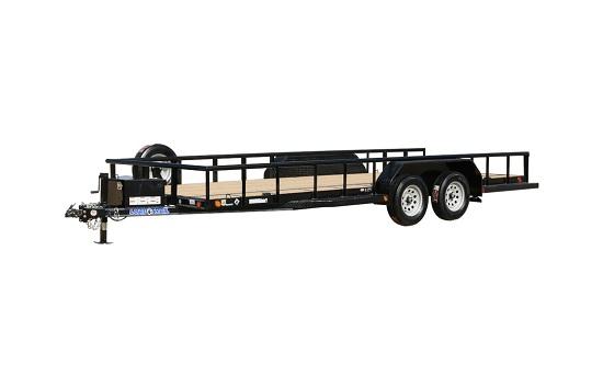 Load Trail UD07 - Tandem Axle Utility 77 x 18