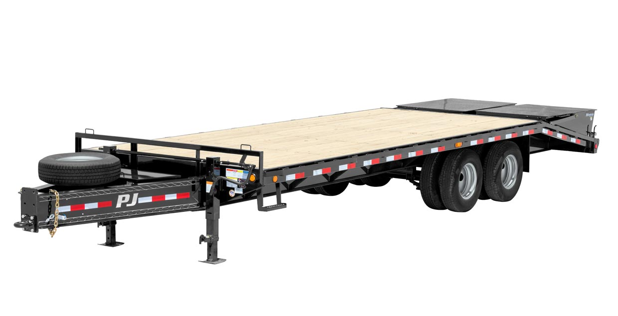 PJ Trailers Classic Pintle with Duals (PD)