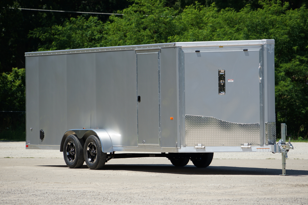NEO Trailers NAS287TF Flat Top All Sport Trailer