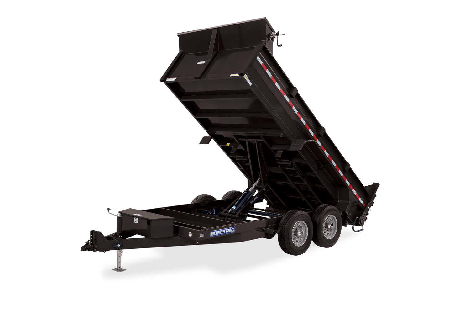 2021 Sure-Trac 82 IN X 12+4 LProfile 14K Scissor Dump