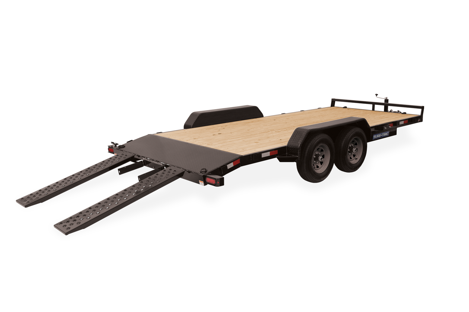 2021 Sure-Trac 7 X 18 Wood Deck Car Hauler  10k