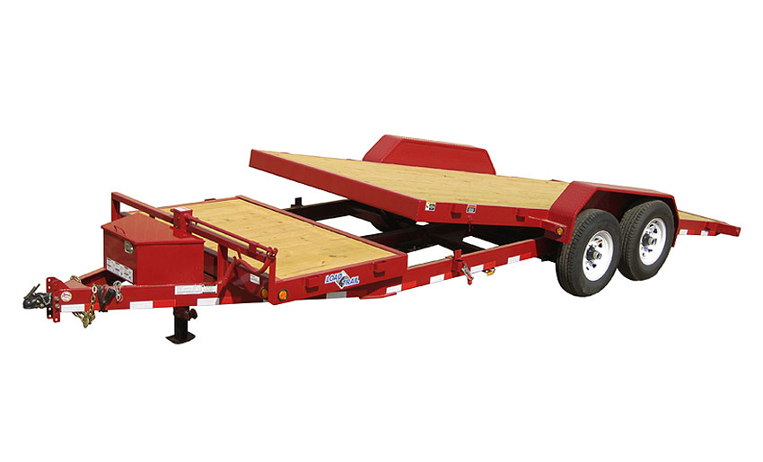 "2016 Load Trail 102"" X 20' Tandem Axle Tilt Deck w/Gravity"
