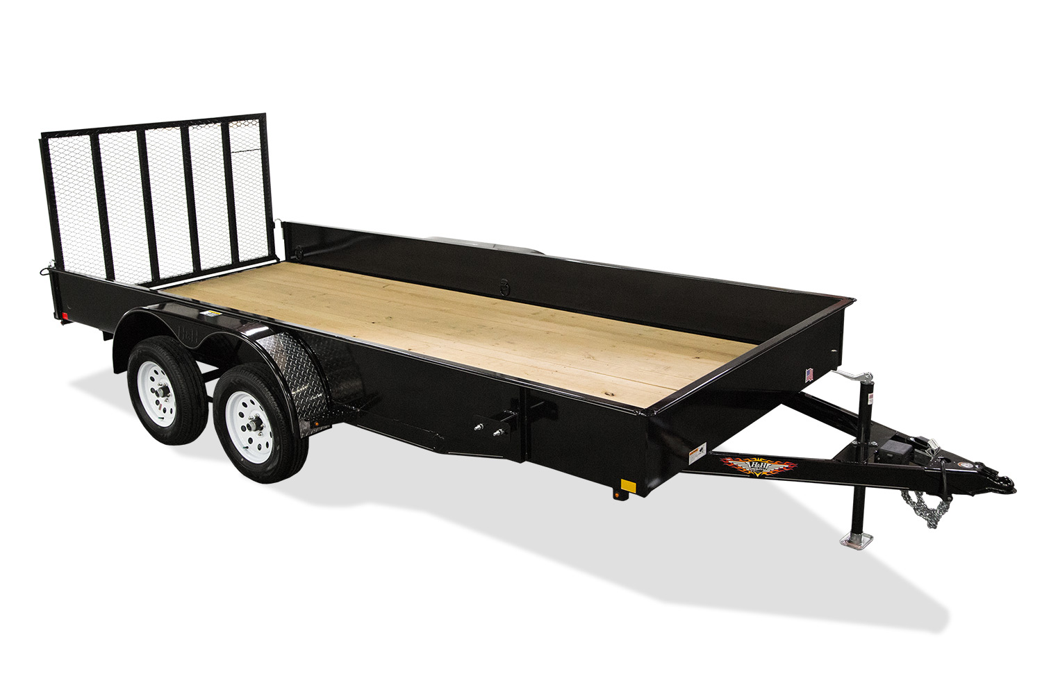 2020 H and H Trailer 82X20 STEEL SOLID SIDE TANDEM 10K
