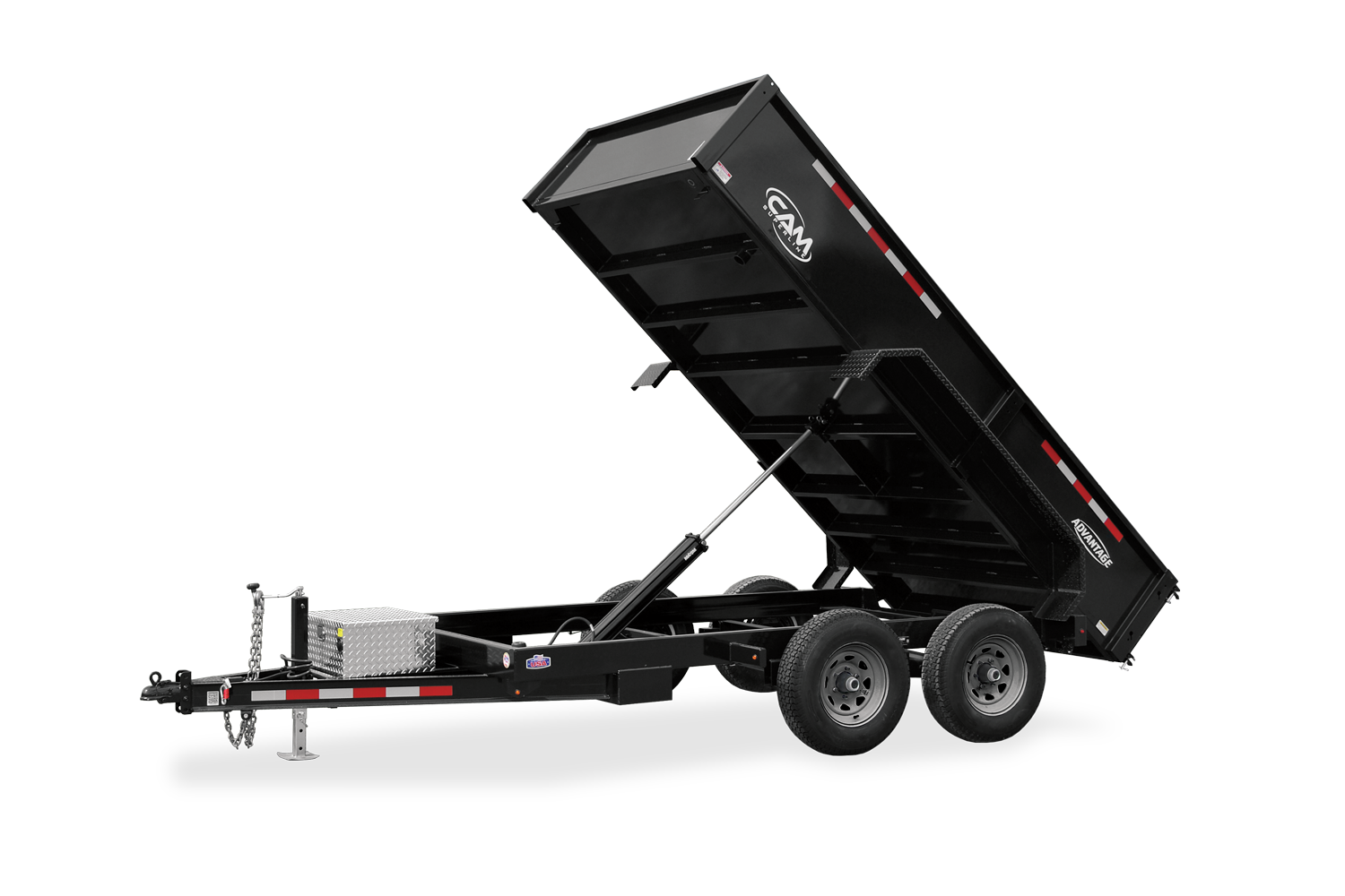 2021 Cam Superline 5 Ton 6' Wide x 12' Long Advantage Low Profile Dump Trailer