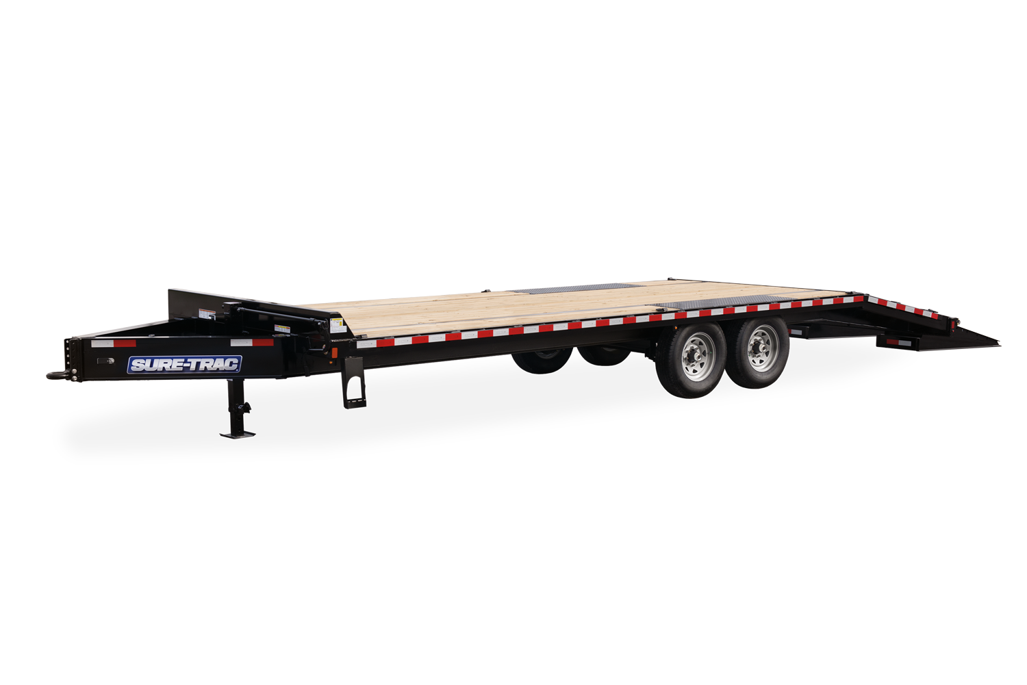 2021 Sure-Trac 8.5 x 20 Heavy Duty Low Profile Flat Dec