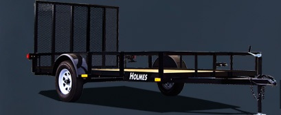 """Holmes 6'10"""" x 12' 7k Tandem Axle Commercial"""