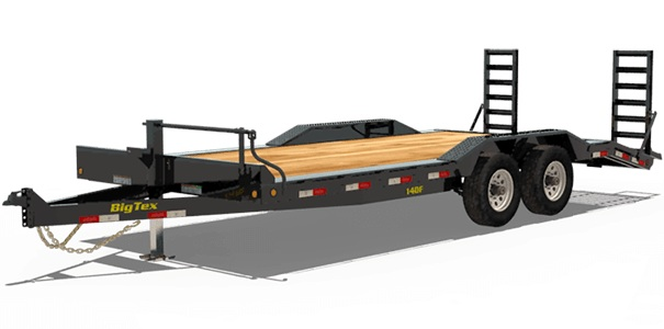 Big Tex Trailers 14DF-20
