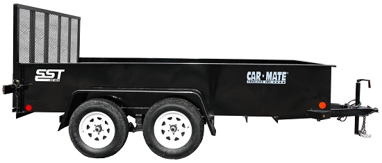 Car Mate Trailers CM618SST-HD/W Tandem Axle