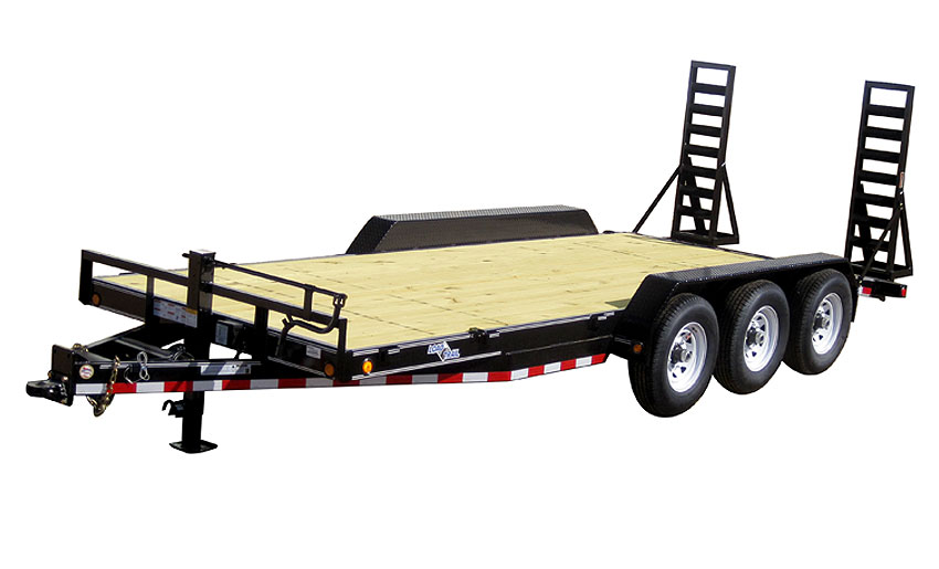 "2018 Load Trail 102"" X 24' Triple Axle Carhauler Car / Racing Trailer"