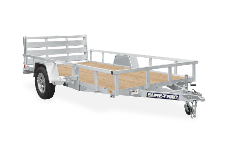 2021 Sure-Trac 6 X 10 Aluminum Tube Top Utility  3K Idl