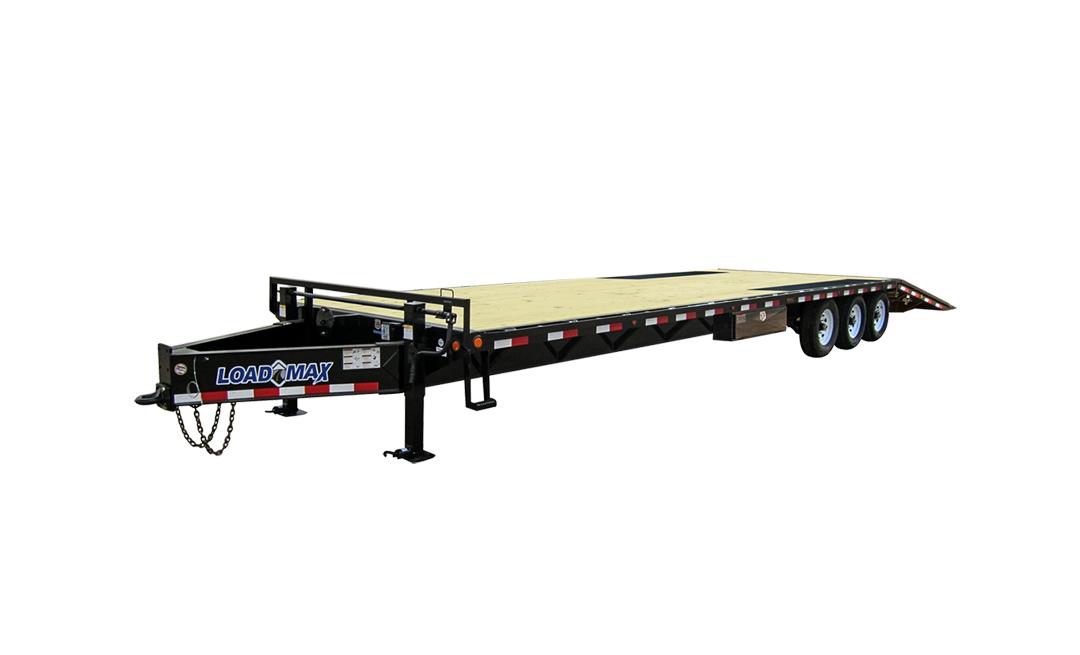"Load Trail PR21 - Pintle Hook Heavy Duty w/Hyd Dove Tail 21000 Lb & 12"" 19 Lb I-Beam Frame"