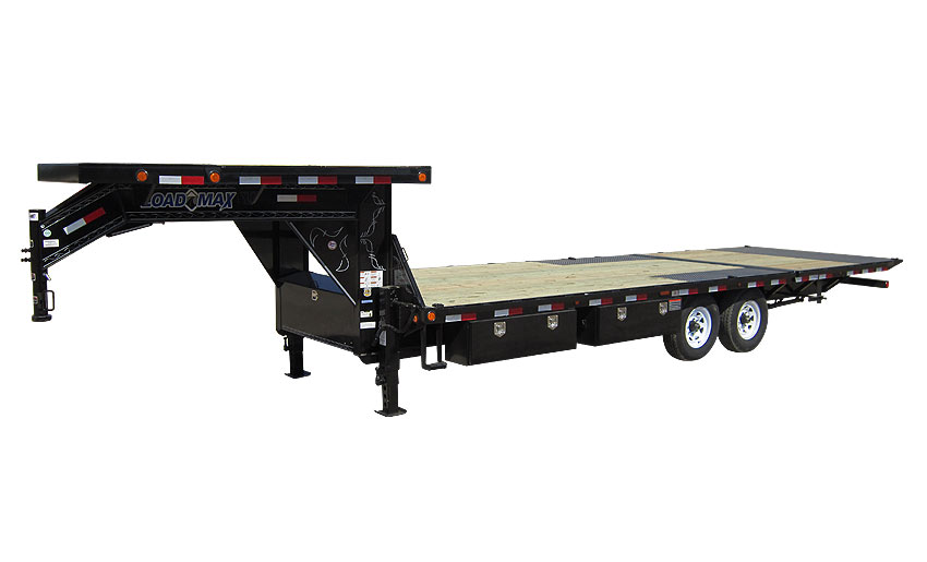 "2016 Load Trail 102"" x 34' Heavy Duty Gooseneck 2-8000 lb Axles W/Hyd. Dove"