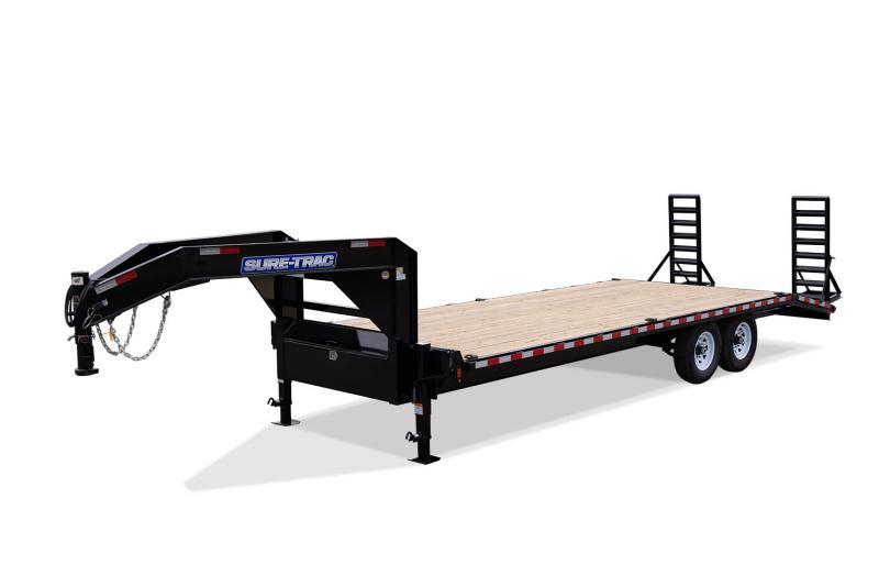 2021 Sure-Trac 8.5x25+5 LowPro Deckover Tandem GN 22.5K