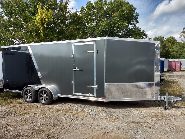 Discovery Trailers 7x27TA35 AERO-LITE Aluminum Snowmobile Trailer