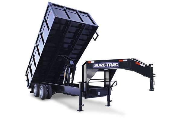 2020 Sure-Trac 96 IN x 16 DO 16K Goose Scissor Dump