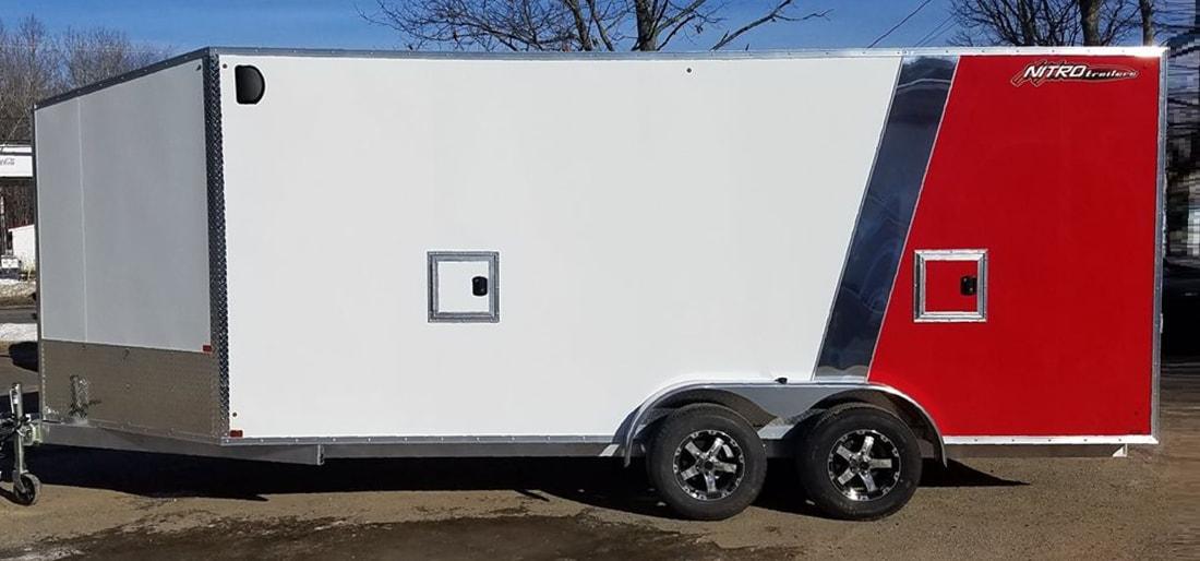 Nitro Trailers 8.5 x 16 Tandem Axle Enclosed Cargo